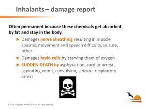 Brain_Body Impact of Addiction inhalants